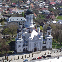 The cathedral from Rădăuți