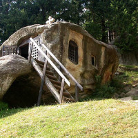 Daniil sihastru`s stone sanctum